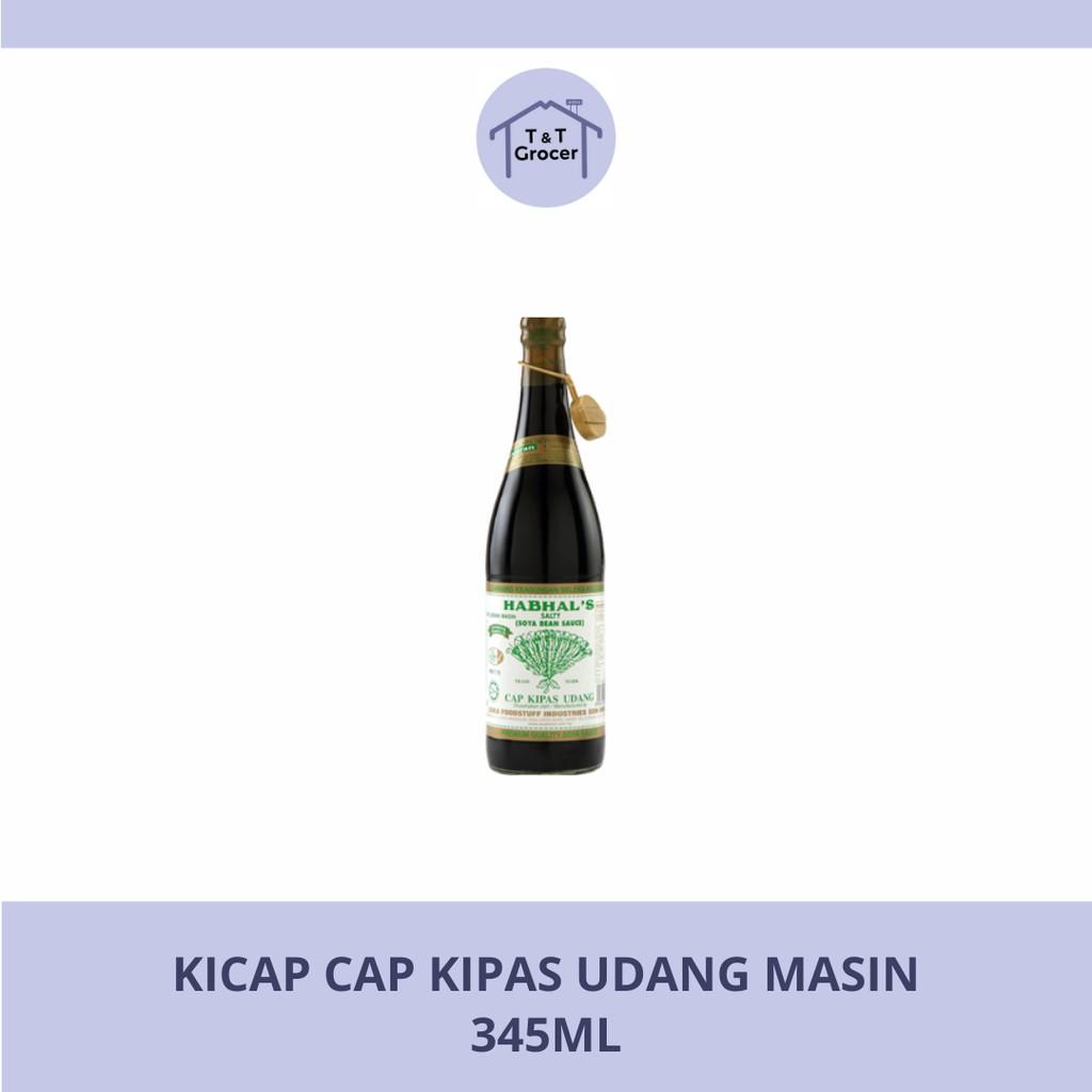Kicap Cap Kipas Udang Masin (345ml)