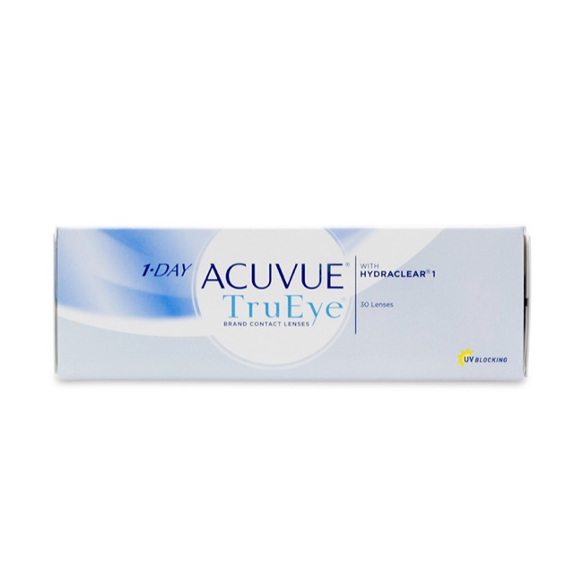 1-Day Acuvue TruEye Silicone Hydrogel Daily Disposable (30 pieces box)    Shopee Malaysia 060fbd9c45
