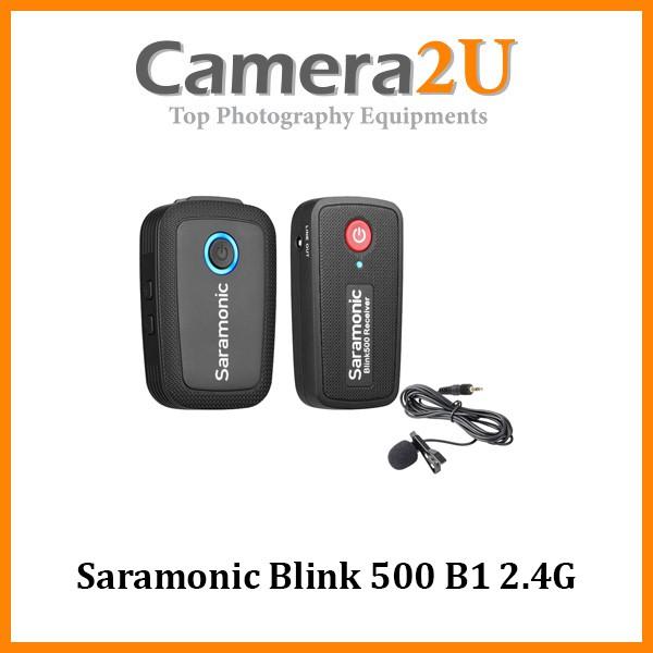 Saramonic Blink 500 B1 2.4G Dual Channel Wireless Microphone TX + RX (3.5mm)
