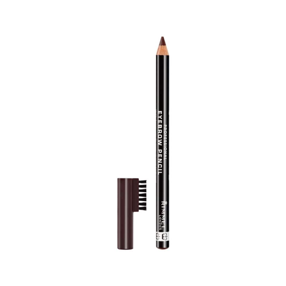 RIMMEL Professional Eyebrow Pencil 001 Dark Brown | Shopee ...