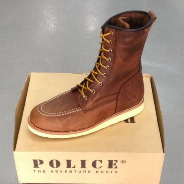 d941d6a03b1 Ready Stock Safety Shoe Police brand