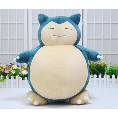 BANPRESTO Pokemon Plush Stuffed Toy Doll I love Kabigon Snorlax Kabigon 35cm