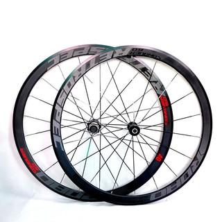 RS Aluminum 700C 4 sealed bearing disc brake barrel shaft Bike Wheelset 30mm Rim
