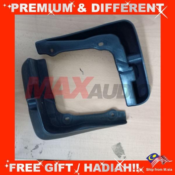 [FREE Gift] [CLEARANCE] PERODUA KENARI Mudflaps Front Rear Fender Mudguard Splash Guards (Pair)