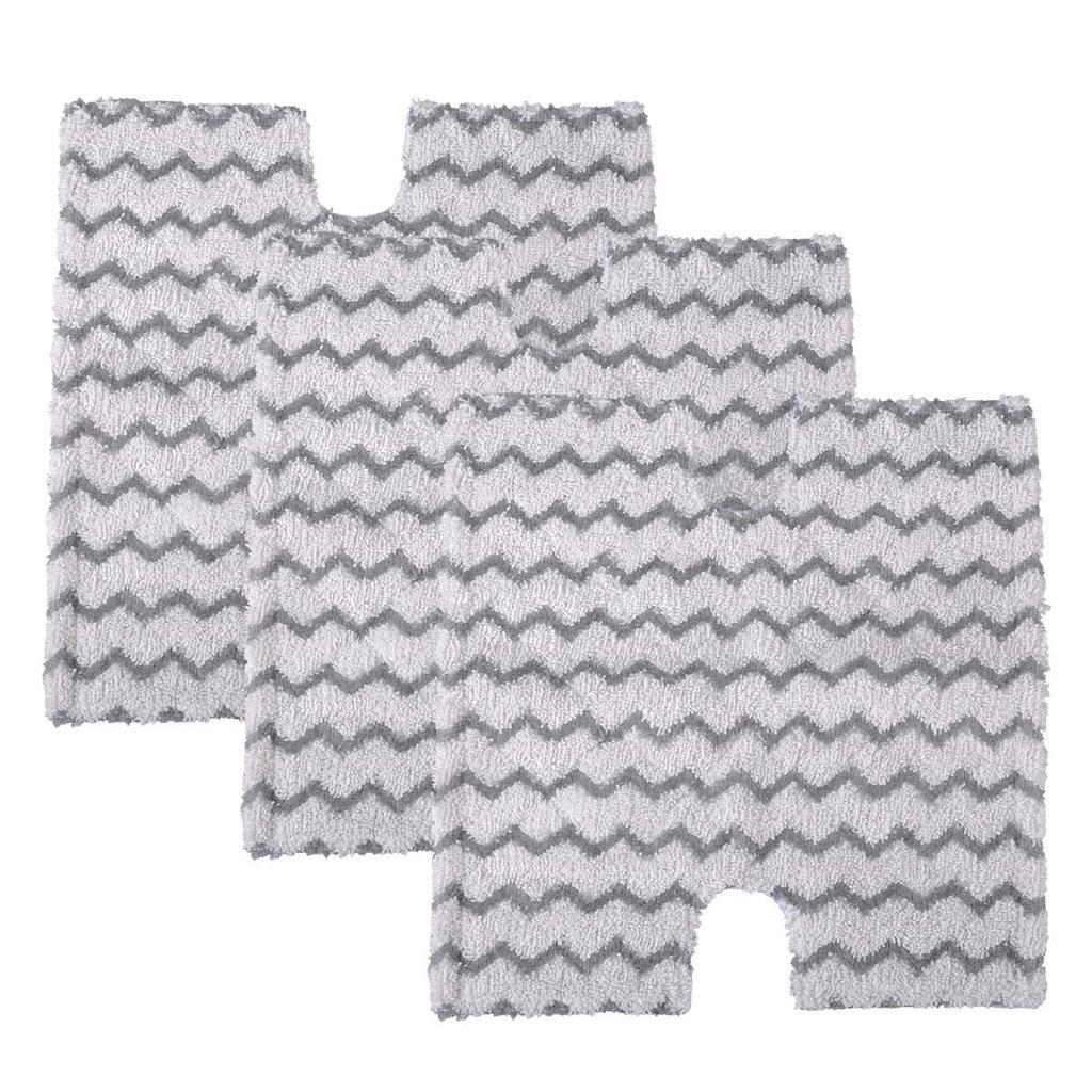 3 Pack Steam Mop Pads Replacement for Shark Lift-Away & Genius Steam Pocket Mop