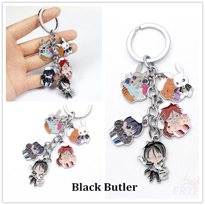 Black butler Kuroshitsuji eagle symbol Badge cosplay chain necklace
