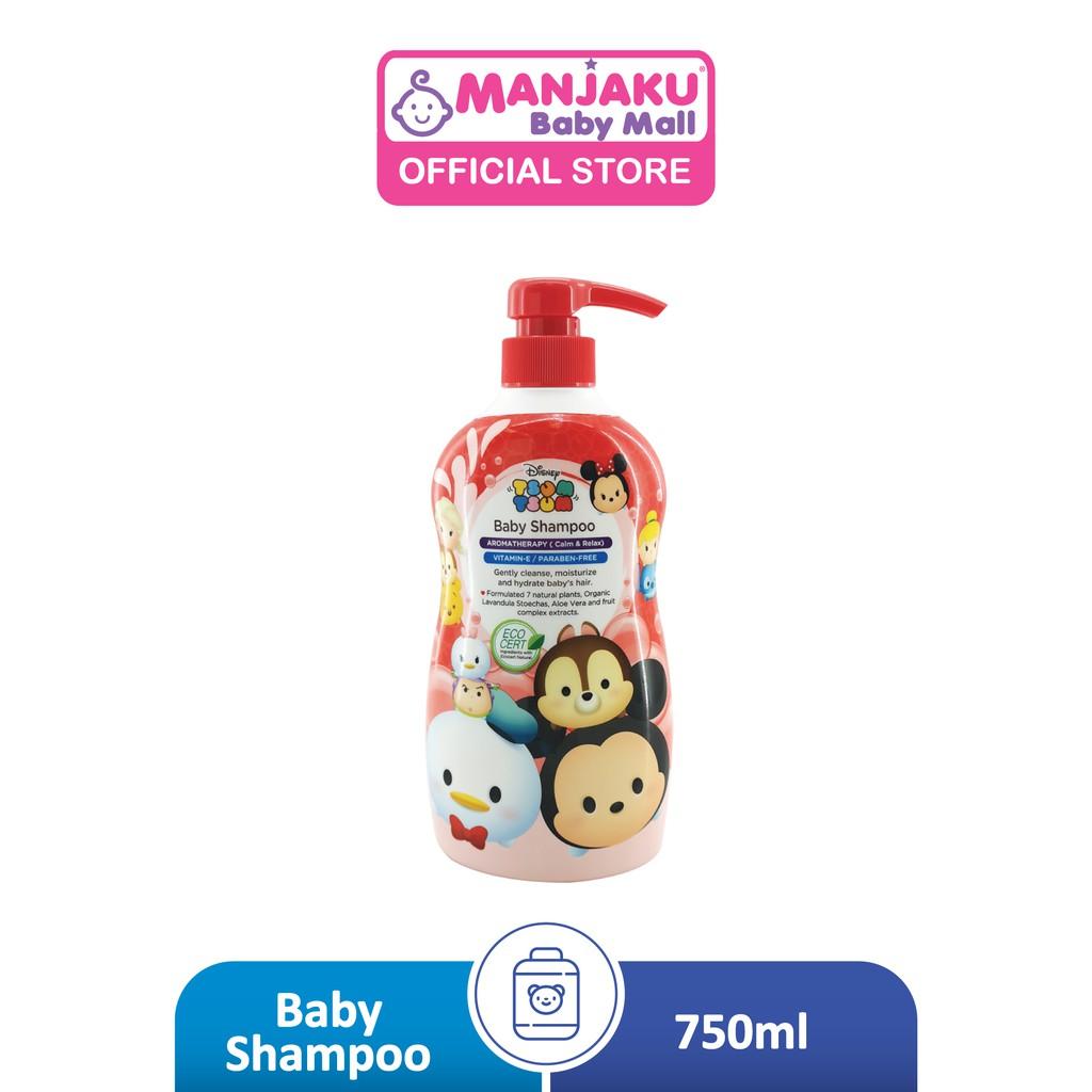 Disney Tsum Tsum Baby Shampoo (750ml) - Vitamin E / Pareben Free