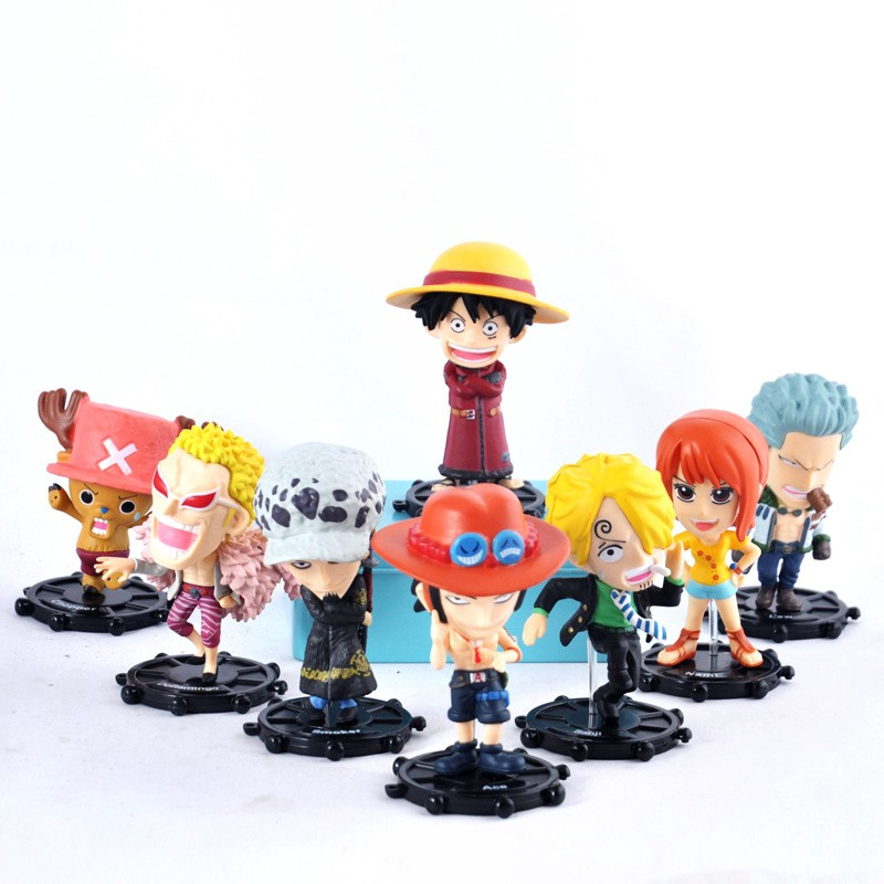 Action & Toy Figures Azur Lane Q Edition Clay Man Akashi Uss Laffey Box Egg Doll Pvc Action Figure Collectible Model Toy Box-packed 10cm Various Styles
