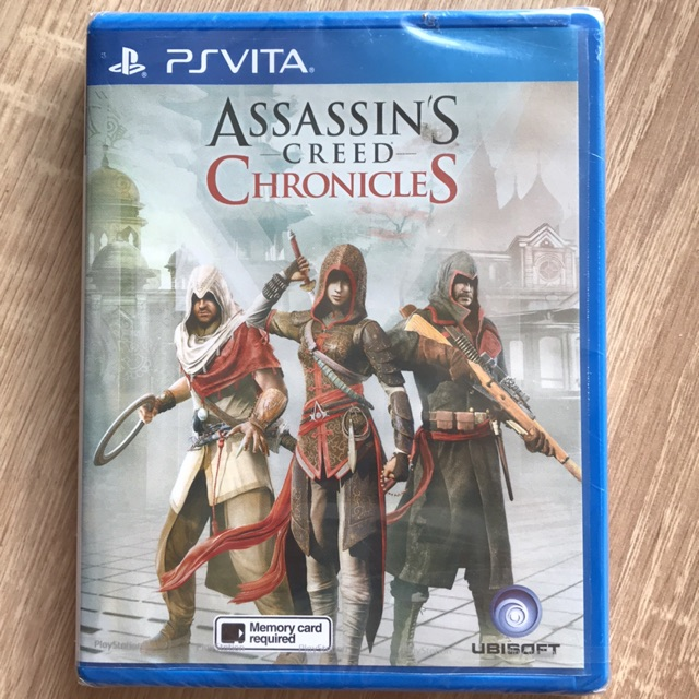 New Assassins Creed Chronicles Ps Vita Shopee Malaysia