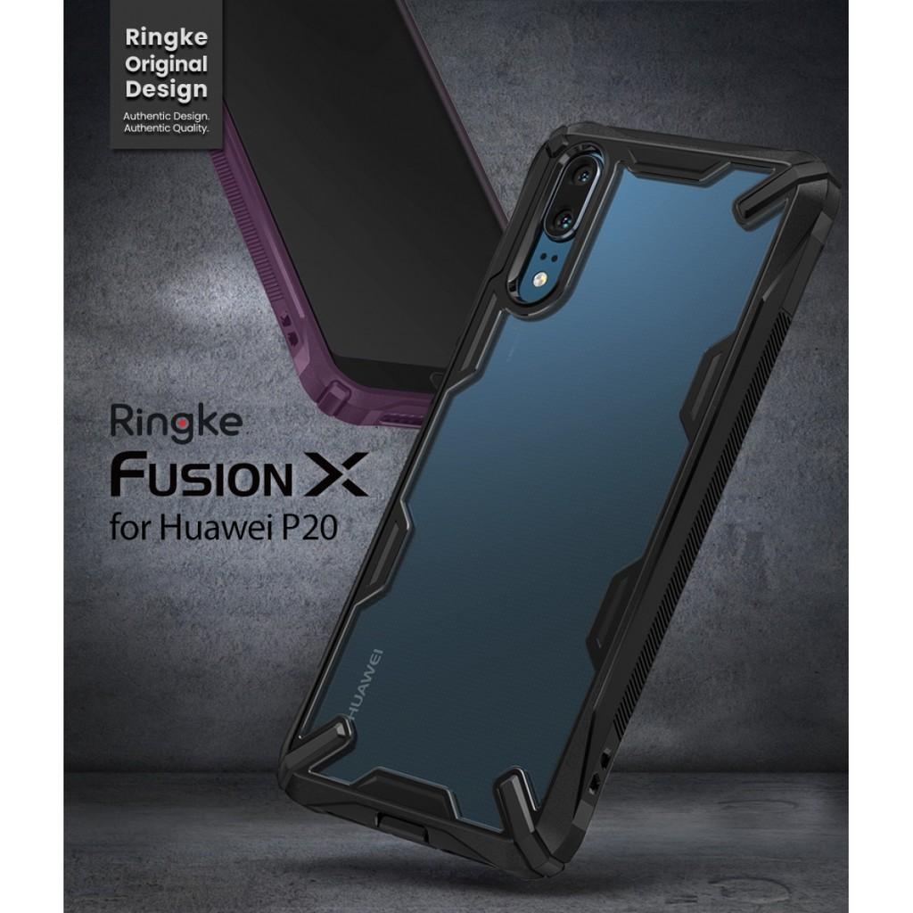 the best attitude 221f6 50e35 RINGKE FUSION X CASE FOR HUAWEI P20 [ORIGINAL] [READY STOCK]
