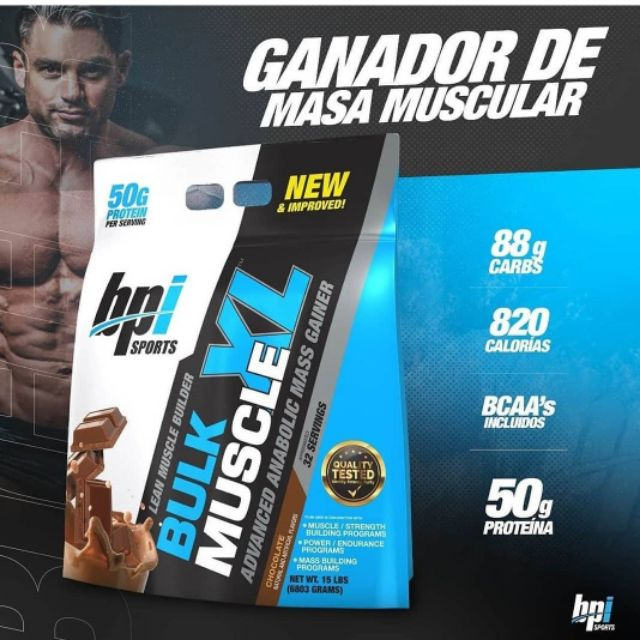 BPi Bulk Muscle XL - Weight Gainer | Shopee Malaysia