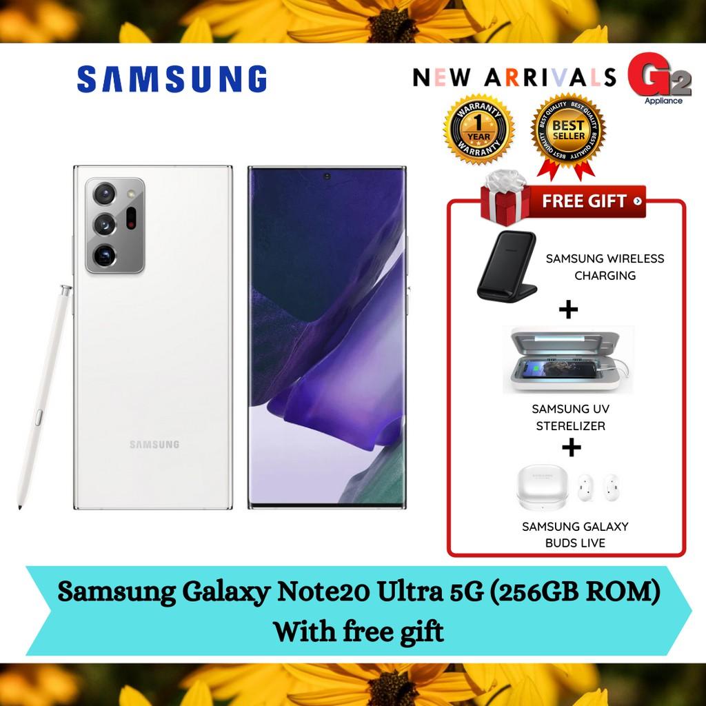 Samsung Galaxy Note20 Ultra 5G (256GB ROM)with free gift (ORIGINAL WARRANTY SAMSUNG MALAYSIA)