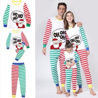 Matching Christmas Pjs.Family Matching Christmas Pajamas Pjs Sets Xmas Sleepwear Nightwear