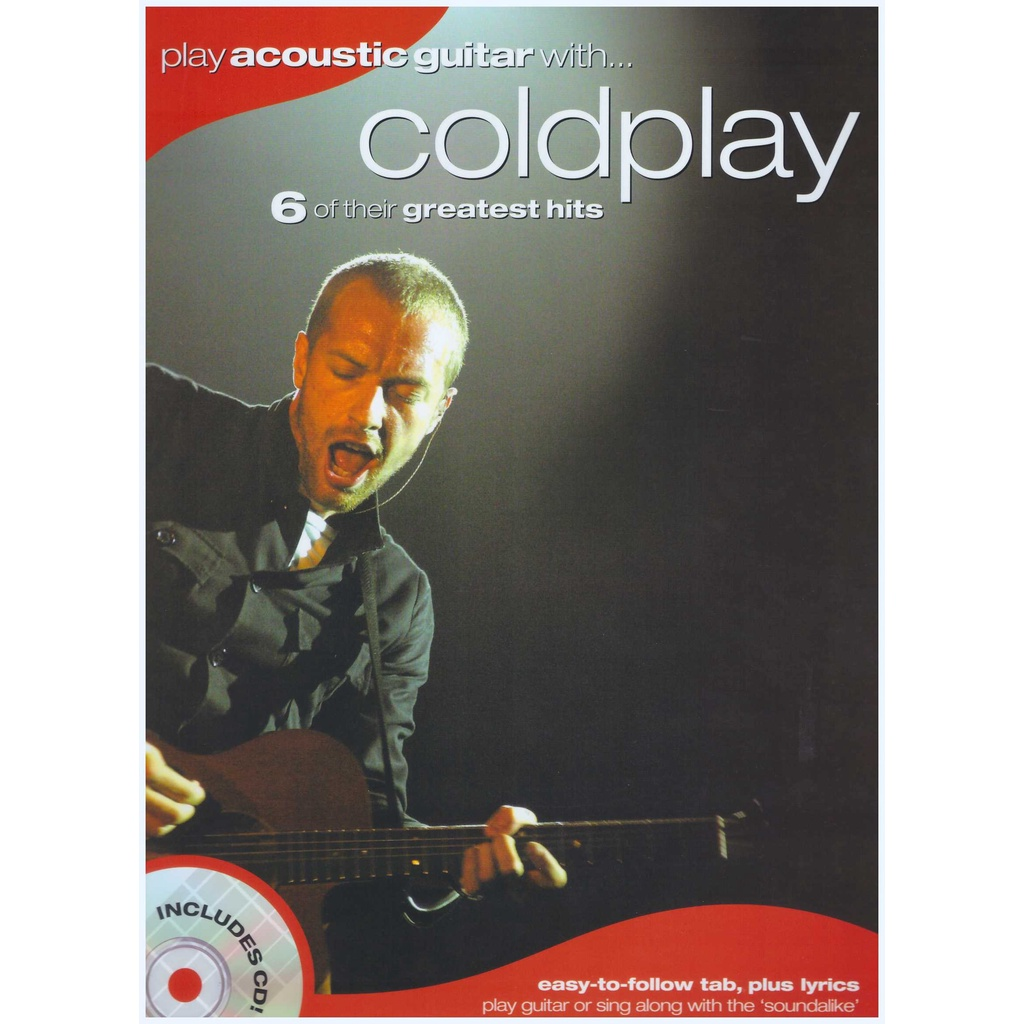 Play Acoustic Guitar With... Coldplay / Vocal Book/Guitar Book