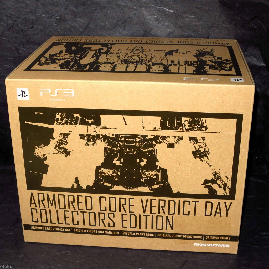 PS3 Armored Core Collector