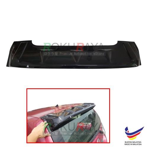Perodua Myvi (1st Gen) 2005-2011 AG Rear Wing Spoiler Visor (Big 25cm)