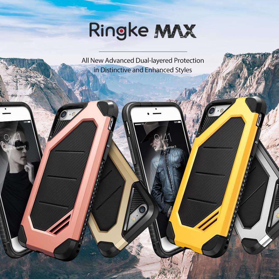 Ori Rearth Ringke Air Prism 3d Case Iphone 7 Plus 8 For Ink Black Shopee Malaysia