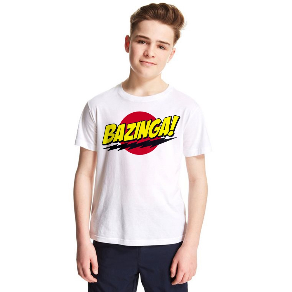 Bazinga The Big Bang Theory Cute Funny Children/'s Kids T Shirts T-Shirt Top