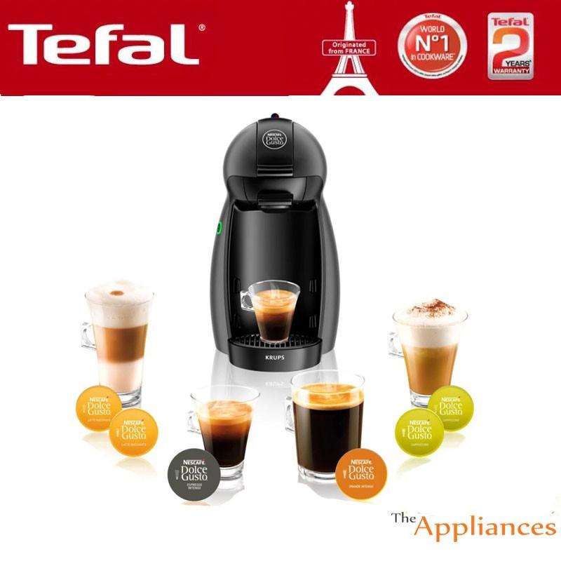 53dd7839e Krups Nescafe Dolce Gusto Piccolo Coffee Machine FREE 6 Assorted Coffee  Capsules | Shopee Malaysia