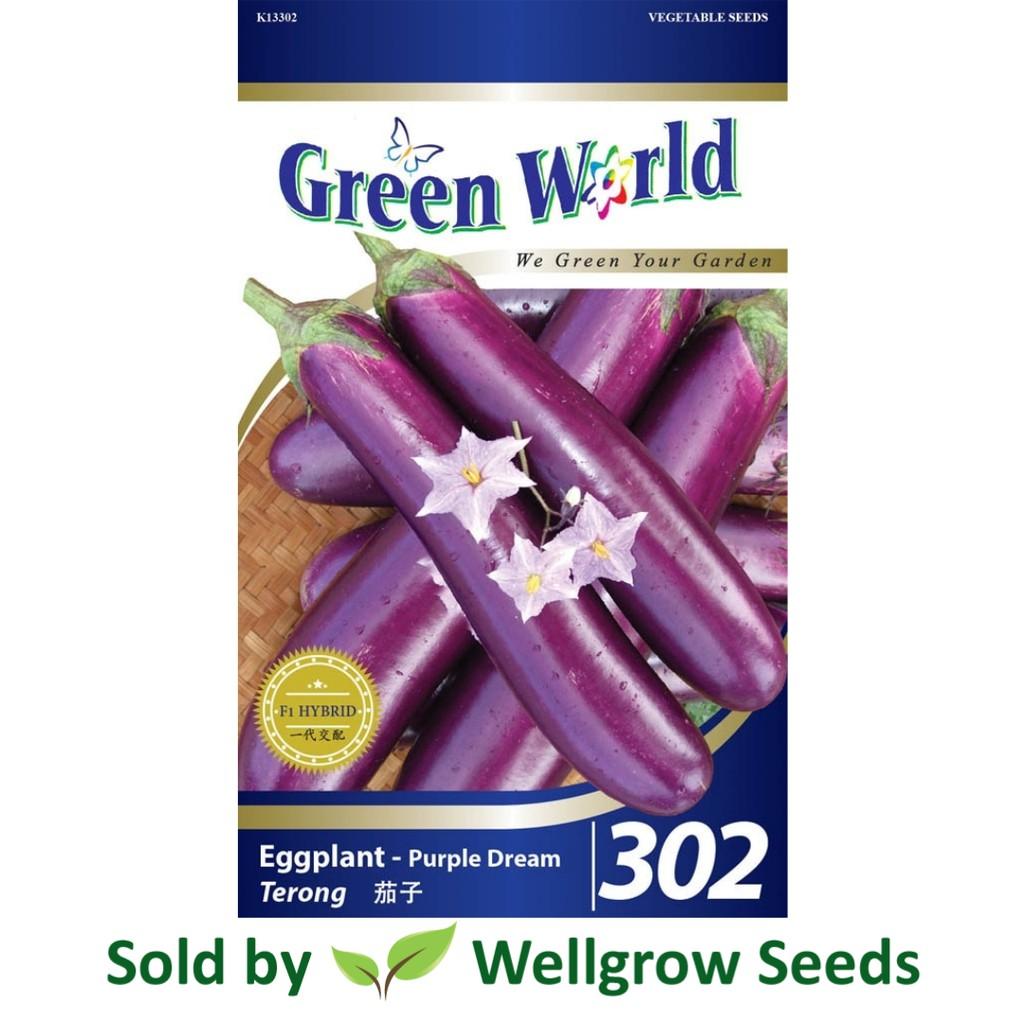Green World Seeds Non Gmo Mini Eggplant 214 Shopee Malaysia