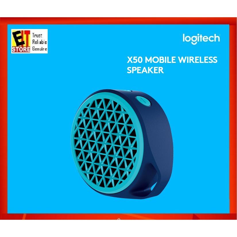 f66607912b9 Logitech X50 Mobile Wireless Speaker (Orange) | Shopee Malaysia