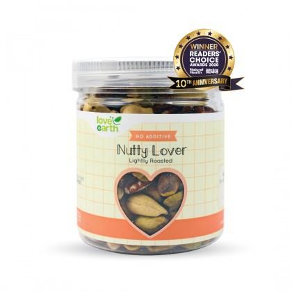 Love Earth Lightly Roasted Nutty Lover 乐儿天然浅烤坚果乐 140公克 (罐装)