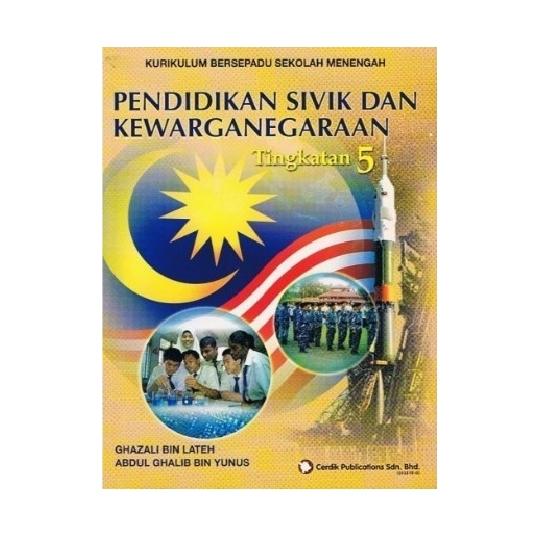 Buku Teks Pendidikan Sivik Dan Kewarganegaraan Tingkatan 5 Shopee Malaysia