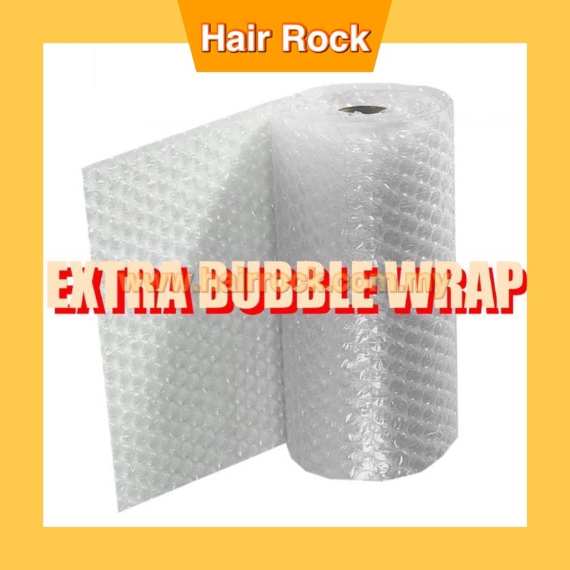 EXTRA BUBBLE WRAP PROTECTION