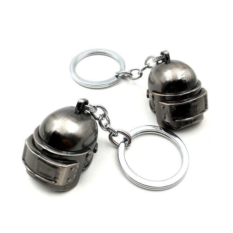 Novelty & Special Use Beautiful Hot Playerunknowns Battlegrounds 13 Style 3d Keychain Pubg Helmet Backpack Pan Pendant Funny Kids Toy Accessories Cosplay Props