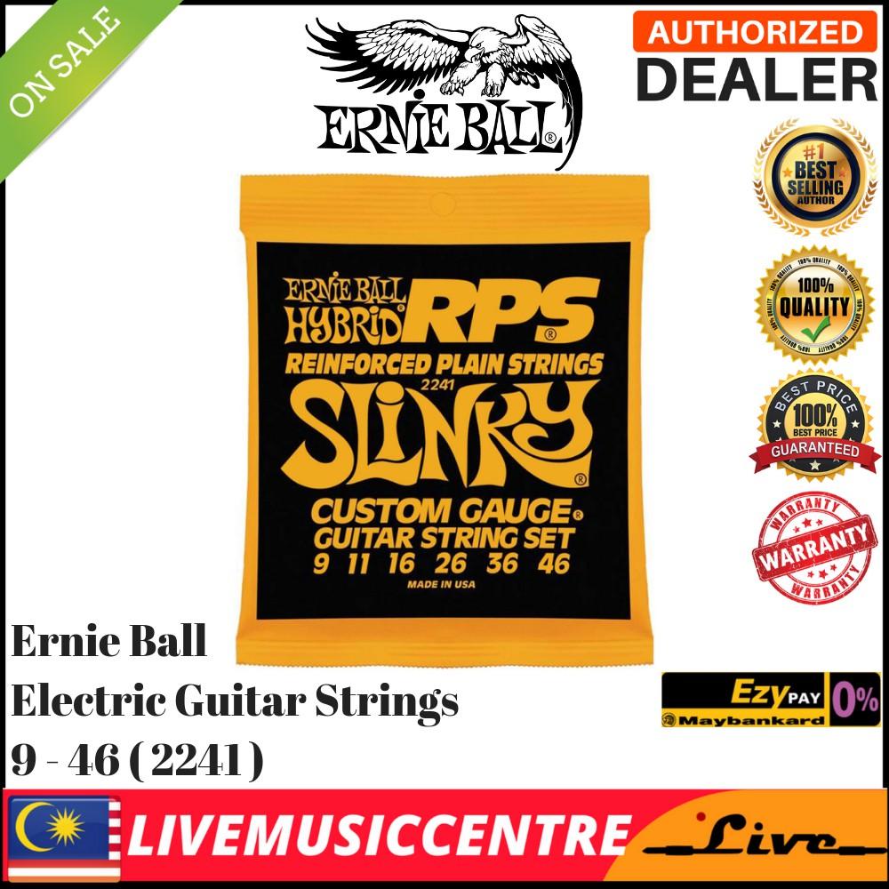 Ernie Ball 2241 RPS Hybrid Slinky Nickel Wound Electric Guitar Strings 9-46