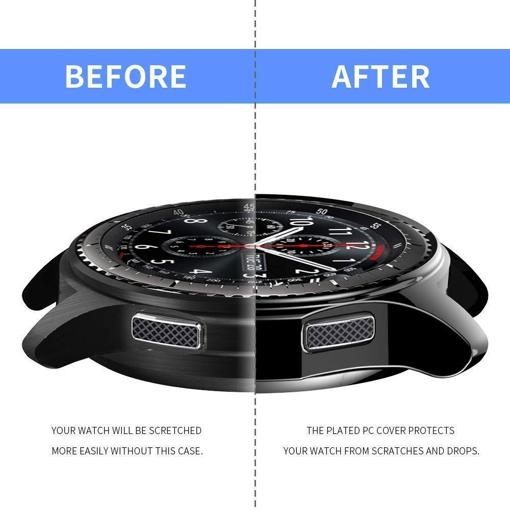 90b1b25692b91 Samsung Gear S3 Frontier / Classic Galaxy Watch TPU Frame Protective Cover  | Shopee Malaysia