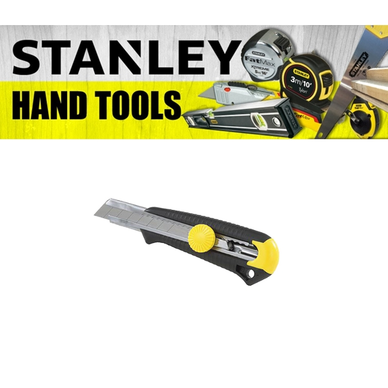 STANLEY 18MM KNIFE WITH DYNA GRIP 10-418