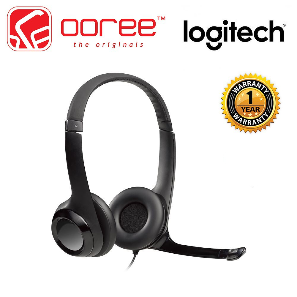380b049296c LOGITECH H150 STEREO HEADSET DUAL PLUG COMPUTER HEADPHONE WITH IN LINE  CONTROLS | Shopee Malaysia