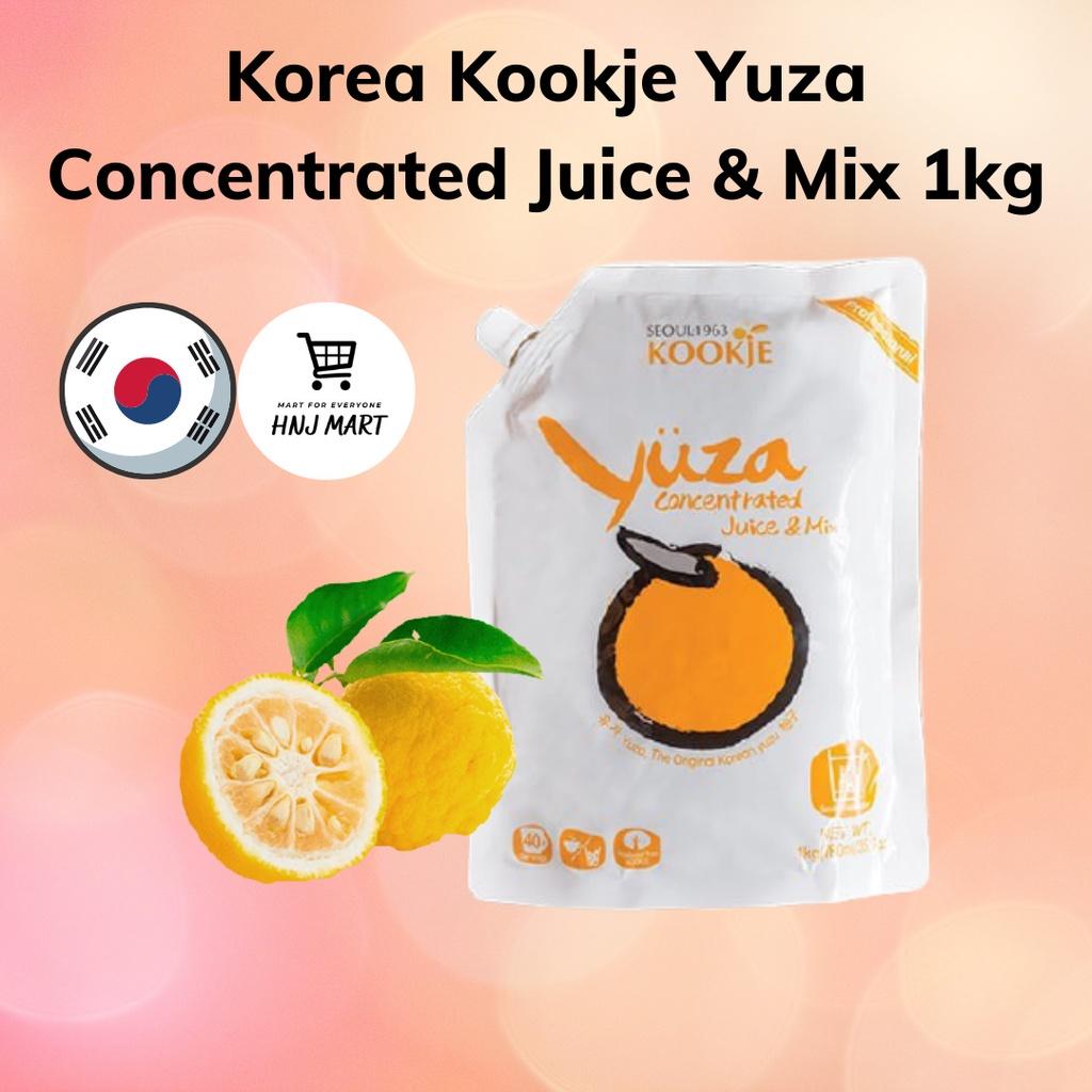 Korea Kookje Yuza Concentrated Juice & Mix 1kg