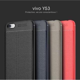 Vivo Y21 Y22 Y25 Y51 Y53 Auto Focus PU Leather TPU Case Cover