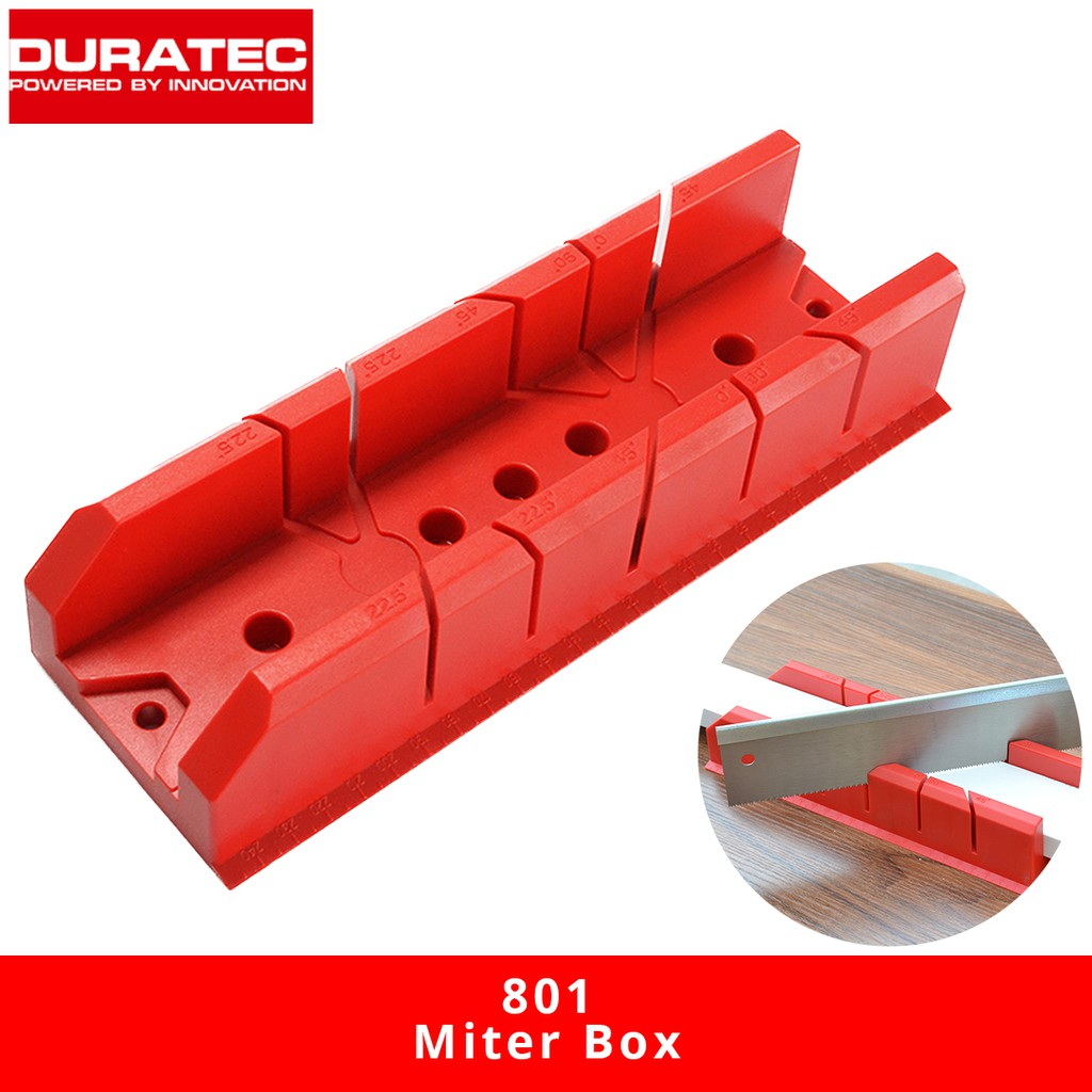 Duratec 801 Wood Clamp Sawing Box 250MM (TL) 86MM (TW) x 50MM (H)