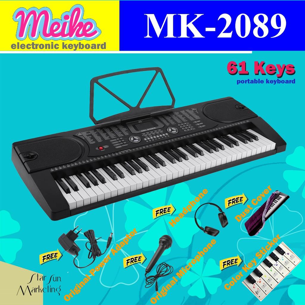 MK-2089 61 Keys Digital Piano Electronic Keyboard Package
