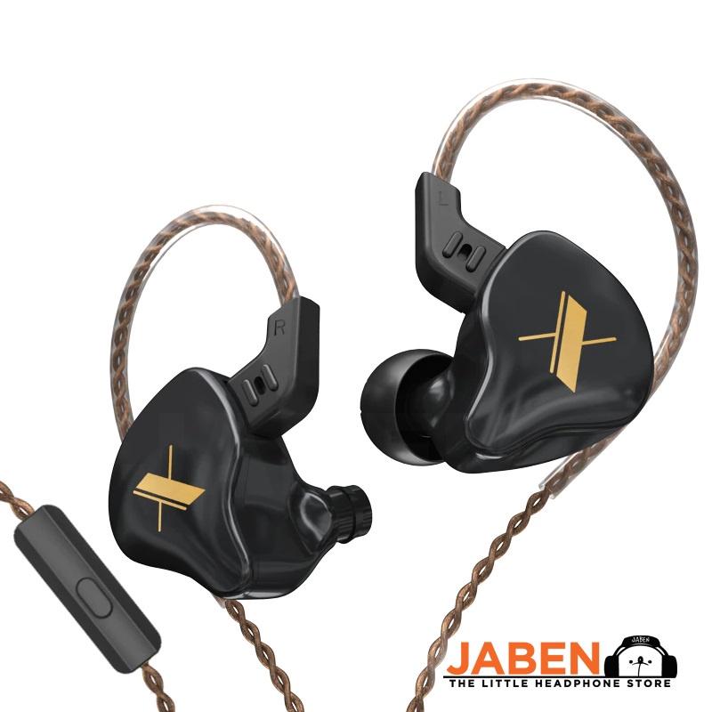 KZ EDX Single Dynamic Detachable 2-Pin 0.75mm Cable Wired IEM In-Ear Earphones [Jaben]