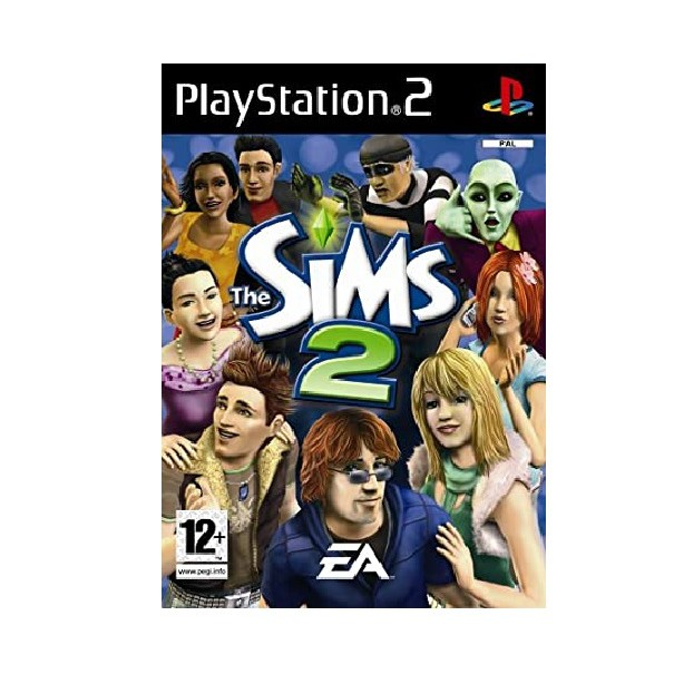 PS2 Game The Sims 2 (Copy Disc)