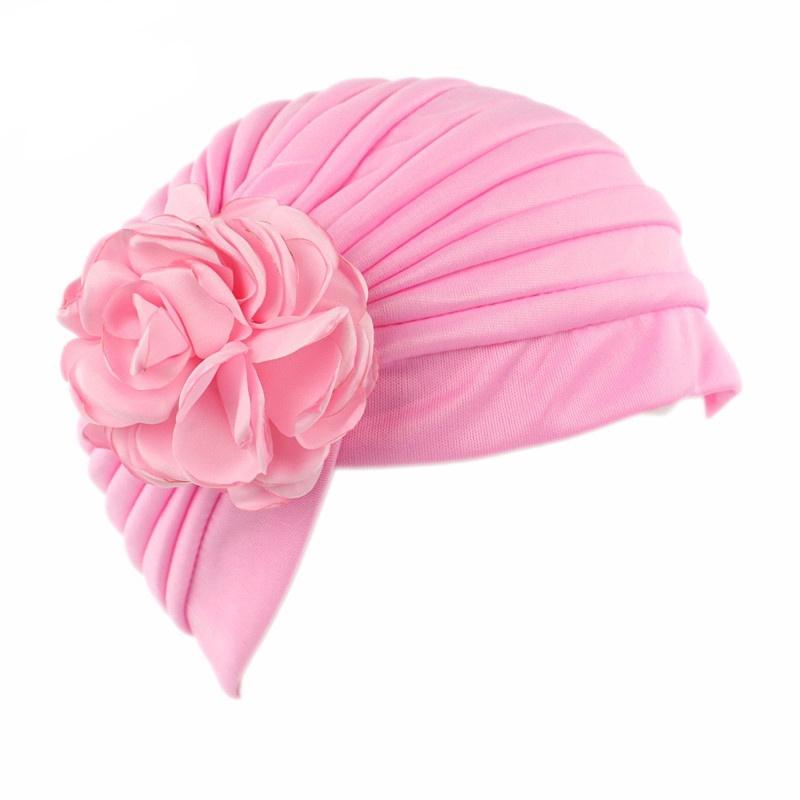 ee944aa97 Women Caps Casual Beanies Hat Flower Skullies Hijab Retro India Style Chemo