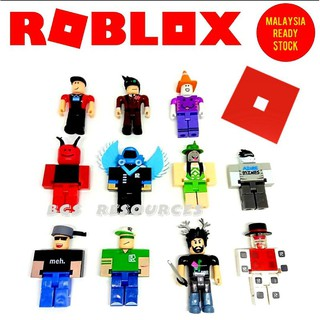 Red Head Stack Roblox Toy World Of Minecraft Figures Minecraft Series Roblox Toys Mine Craft Zombie Steve Wolf Enderman Mooshroom Keychain Figure Shopee Malaysia
