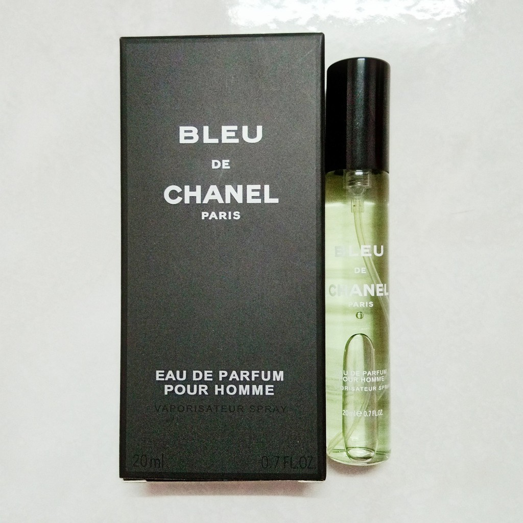 Bleu De Chanel Paris Pocket Perfume 20ml Shopee Malaysia