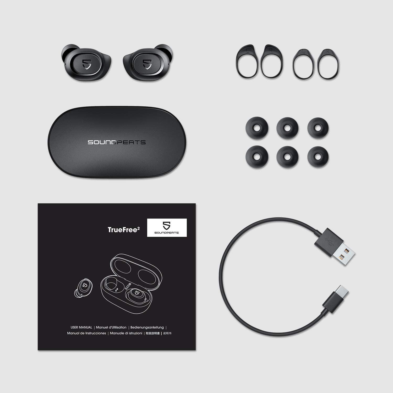 SoundPEATS TrueFree 2 True Wireless Earbuds