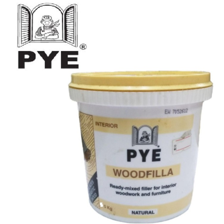 PYE Wood filla Wood filler 5kg Natural/ Tampal Lubang Kayu