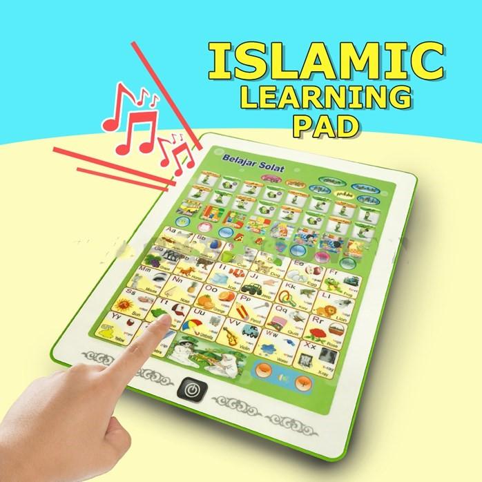 Ready Stock O Alat Permainan Islamic Learning Pad Solat And Daily Doa Learning Tablet Doa Belajar Solat