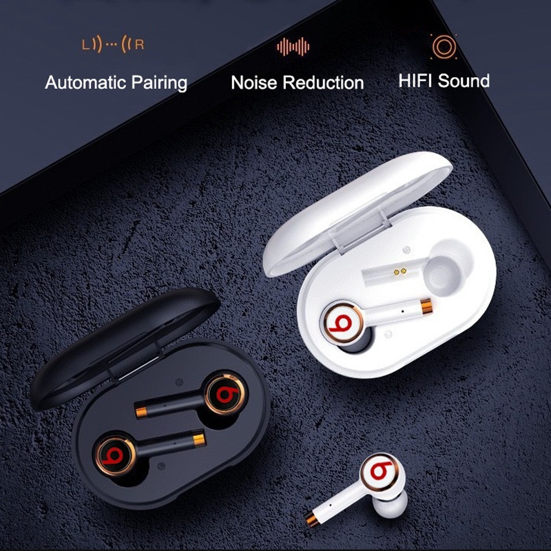 2020 Newst Upgraded Beats Tour 3 Tws True Wireless Earbuds Earphones Headphone With Charge Case For Ios Android Shopee Malaysia