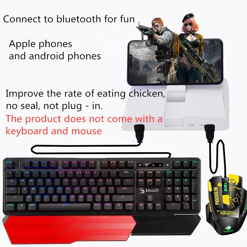 bluetooth keyboard and mouse for android phone