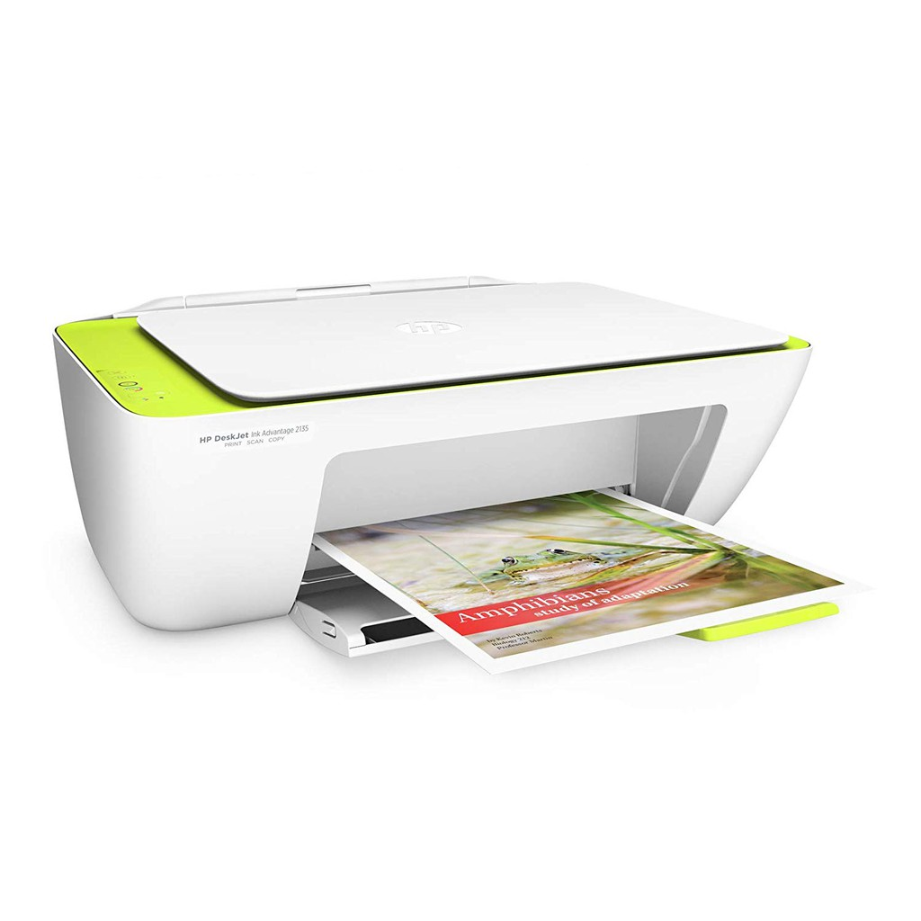 HP DESKJET 2135 ALL IN ONE PRINTER Come With Original Cartridge