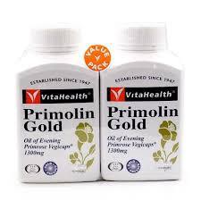 Vita Health Primolin Gold Twin Pack 2x150's (Evening Primrose Oil)