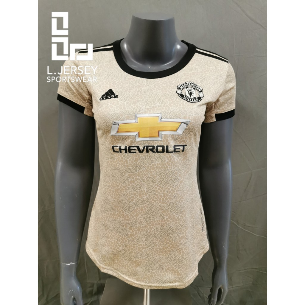 Manchester United Women Away Season 19/20 CLIMALITE Fans Jersey